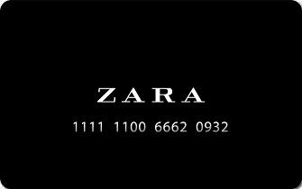 Подарочный сертификат Зара